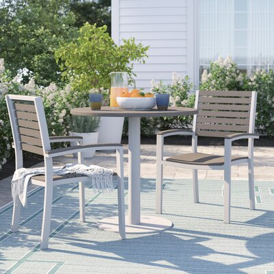 Caspian 3 Piece Bistro Set by Sol 72 Outdoor Purchase