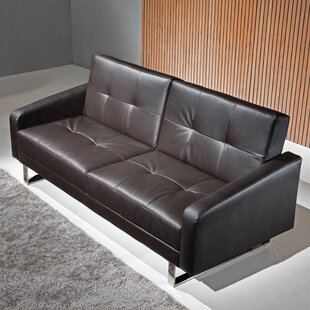 Canis Reclining Sleeper Sofa by Orren Ellis