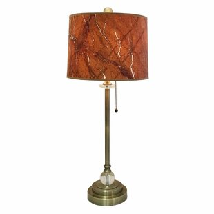 Dignazio Marble Texture Hardback 28 Table Lamp