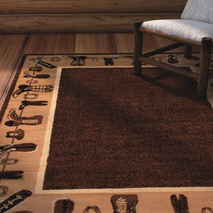 Reviews Lacour High Quality Woven Ultra-Soft Cowboy Shoe Berber Area Rug By Loon Peak