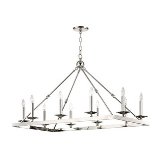 Longshore Tides Castiglia 10-Light Kitchen Island Pendant