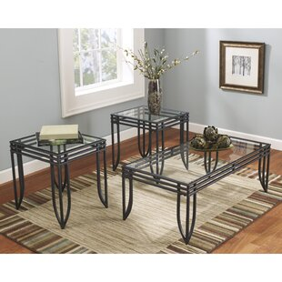 Ashwin 3 Piece Coffee Table Set Red Barrel Studio