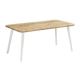 Gracie Oaks Asphodèle Outdoor Wooden Coffee Table