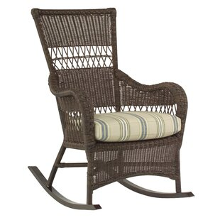 Sommerwind Rocking Chair with Cushions by Woodard