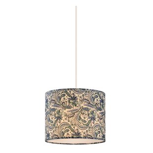 Bungalow Rose Chason 1-Light Drum Pendant