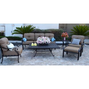 Darby Home Co Nola 6 Piece Sofa Set with Cushions