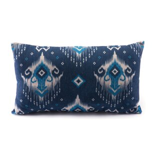 Allis Ikat Lumbar Pillow