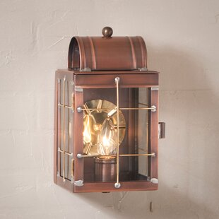Lusk Outdoor Flush Mount By Gracie Oaks Outdoor Lighting