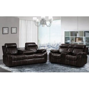 Compare Manan Reclining 2 Piece Living Room Set by Red Barrel Studio