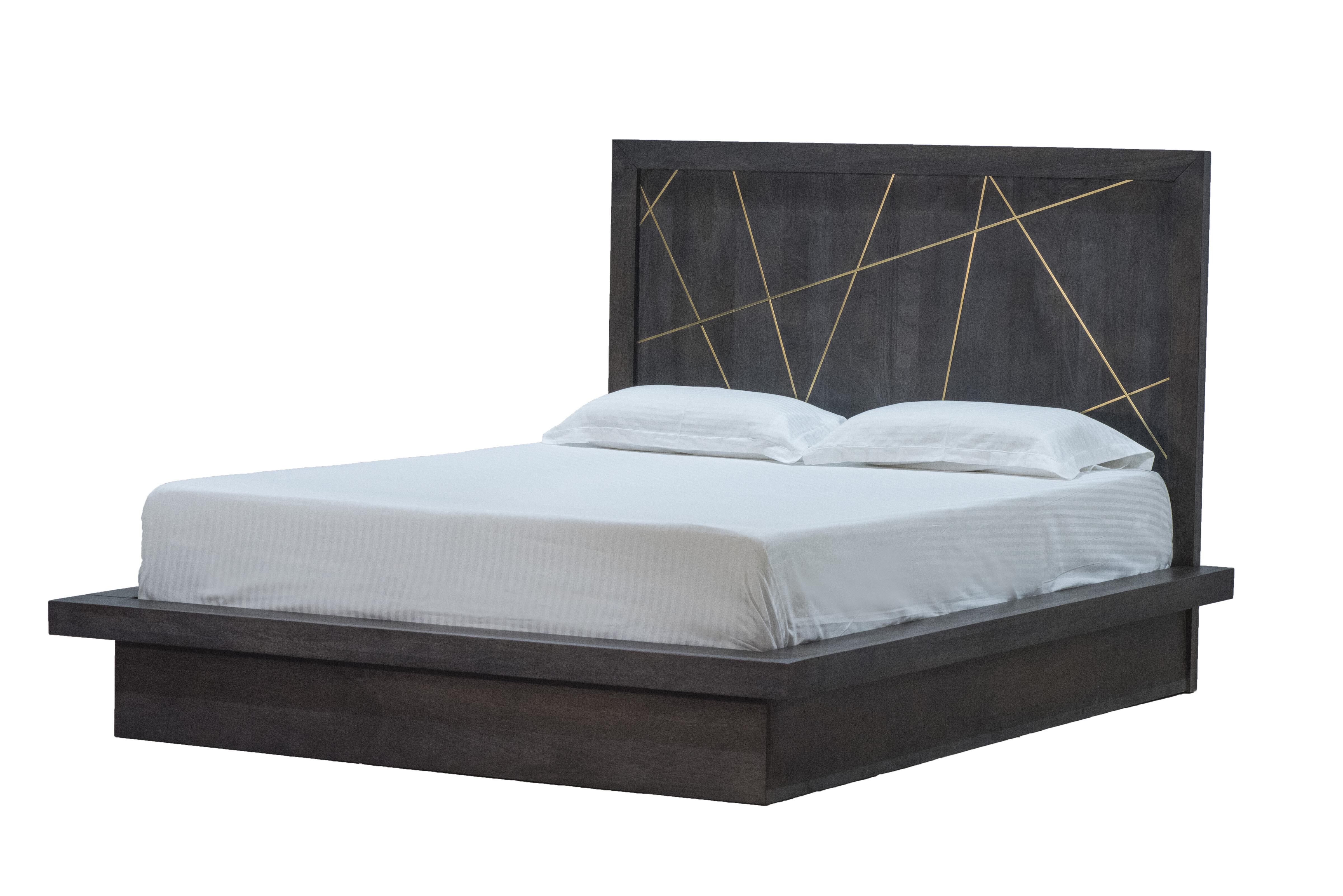 Latitude Run Abai Queen Solid Wood Platform Bed Wayfair