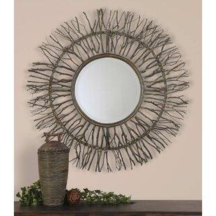 Sunburst Decorative Mirror by Loon Peak