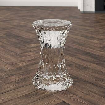 Tronk Design Roberts Solid Wood Accent Stool Perigold