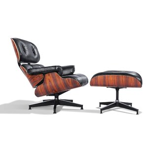 Corrigan Studio Deb Lounge Chair and Ottoman
