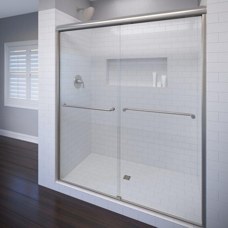 Basco Celesta 48 X 72 Frameless Bypass Sliding Shower Door