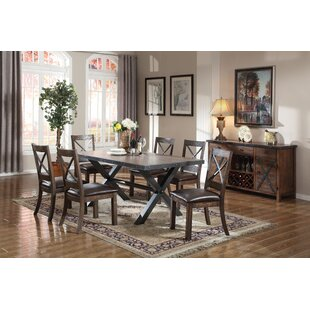 Carly 7 Piece Dining Set Loon Peak