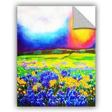 Canvas Fabric Landscape Wall Decals You Ll Love In 2021 Wayfair