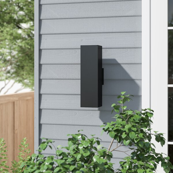 Rozella 2-Light Outdoor Armed Sconce by Zipcode Design™