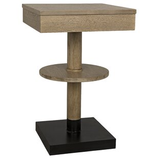 Corinth End Table by Noir