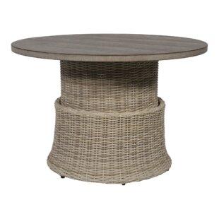 Soho Rattan Dining Table By Lesli Living
