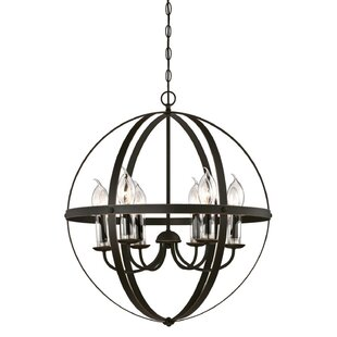 Genna 6-Light Globe Chandelier