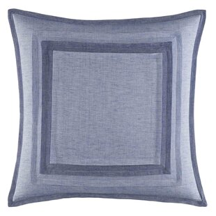 Waterbury 100% Cotton Throw Pillow by Nautica Best Design
