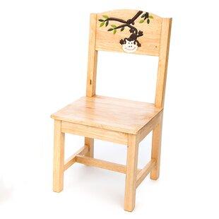 Monkey Dangling Children's Desk Chair By Just Kids