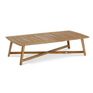 Xeros Teak Coffee Table By Bay Isle Home