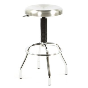 Glaucia Adjustable Height Swivel Bar Stoo..