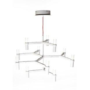 dCOR design Shannon 12-Light LED Chandelier
