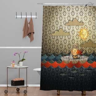 Jose Luis Guerrero Paper Boat Single Shower Curtain