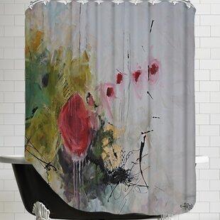 Eruptus Single Shower Curtain