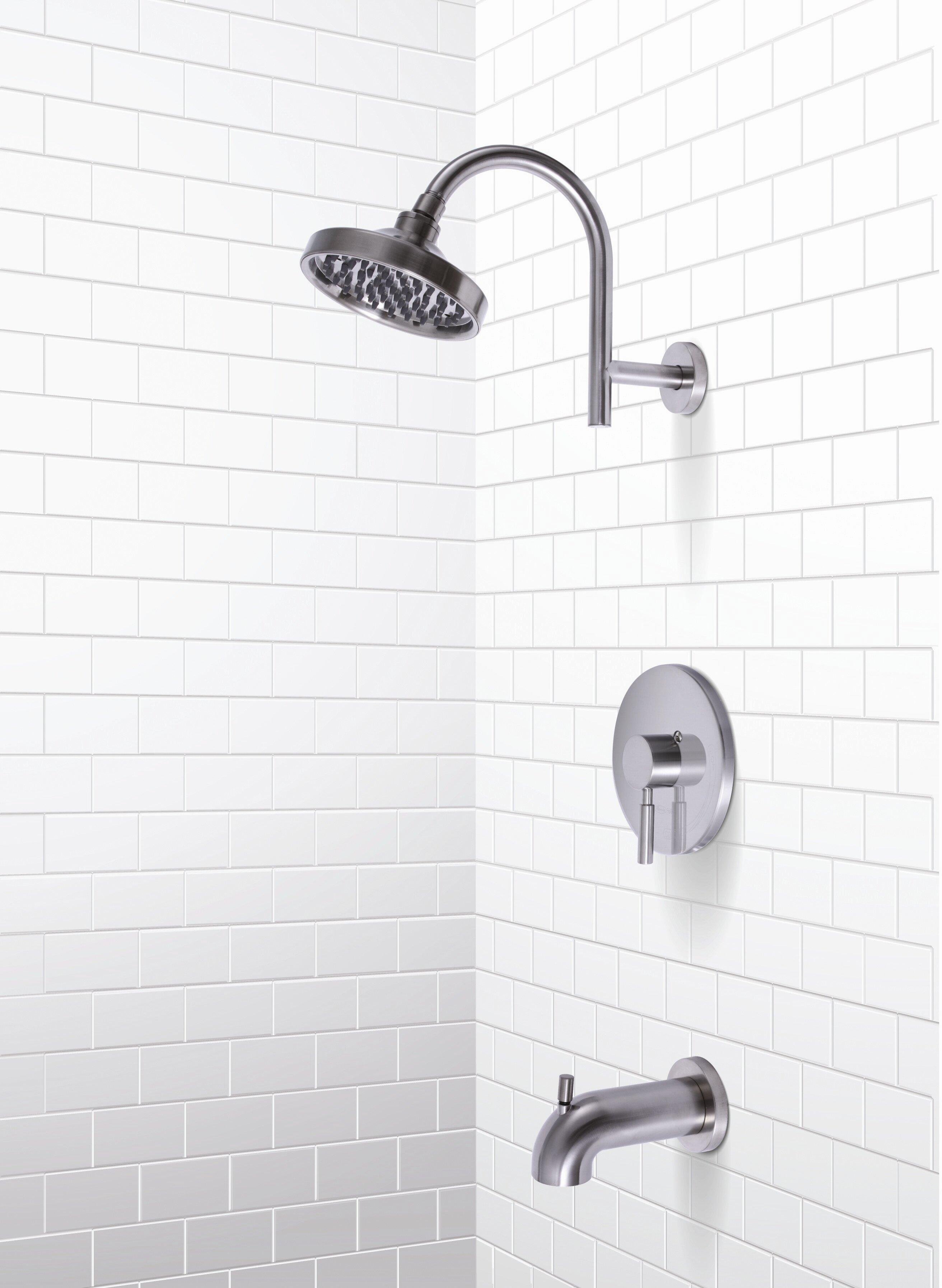 Premier Faucet Essen Single Handle Volume Control Tub And Shower