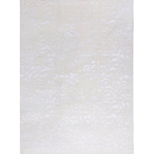 Affordable Price One-of-a-Kind Himalayan Art Handwoven 8'11 x 12'1 White Area Rug By Bokara Rug Co., Inc.