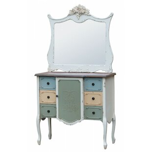 Eng 6 Drawer Combi Chest By Fleur De Lis Living