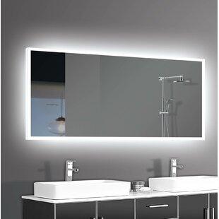 Orren Ellis Alcalde LED Bathroom/Vanity Mirror