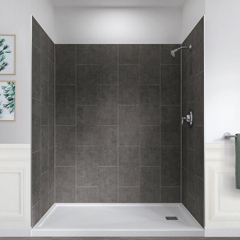 78 X 60 32 Five Panel Shower Wall