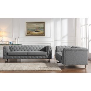 Container Scroll 2 Piece Living Room Set