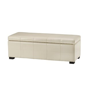 Sergei Leather Storage Bench