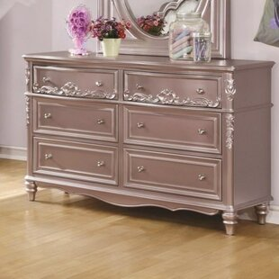 Viv + Rae Whitney 6 Drawer Double Dresser
