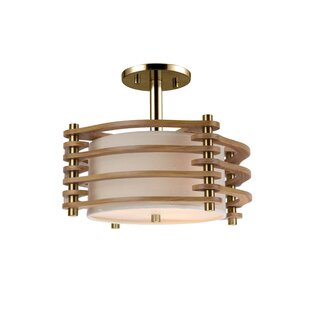 Steps 3-Light Semi Flush M..