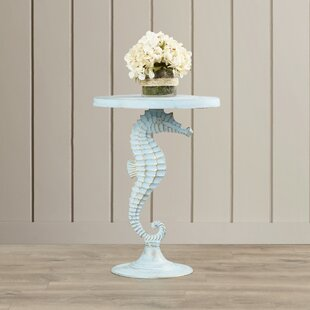 Tenesa Sea Horse Table by Highland Dunes