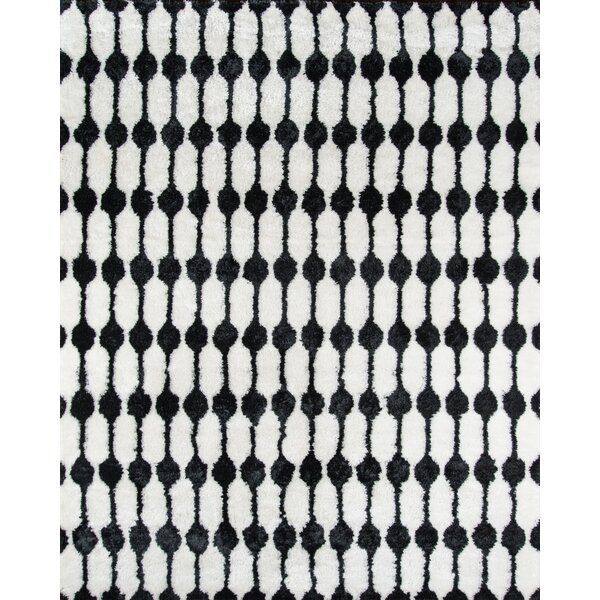 nice black white rug. Novogratz By Momeni Stockings Hand Tufted Black White Area Rug  Reviews Wayfair