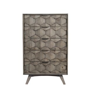 Bahena 5 Drawer Chest by Wrought Studio Comparison