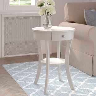 Moravian Classic Accents End Table with Storage by Alcott Hill