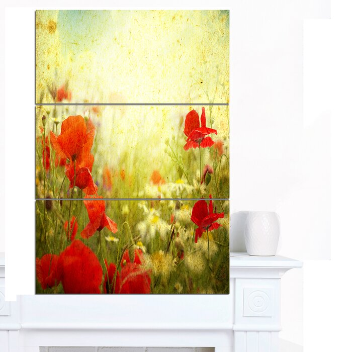 Nice Wall Art Poppies Photos - Wall Art Collections ...