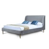 Graeme Upholstered Platform Bed by Everly Quinn