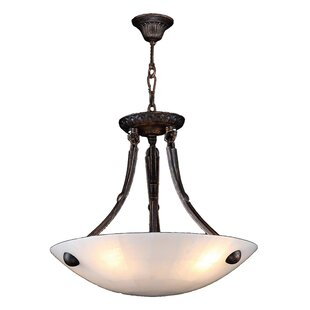 Rosecliff Heights Harwich 4-Light Bowl Pendant