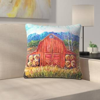 Loon Peak Bohatice Throw Pillow Reviews Wayfair
