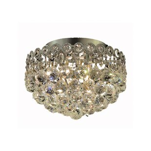 Zoila 3-Light Crystal Chandelier