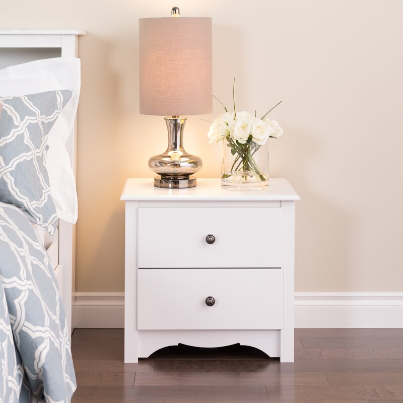 Hayman 2 Drawer Nightstand